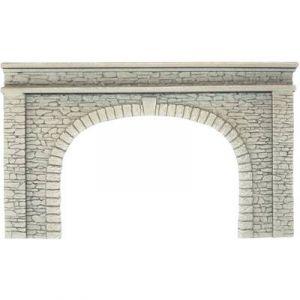 Noch 58062 Mur en pierres naturelle série mousse rigide, voie H0