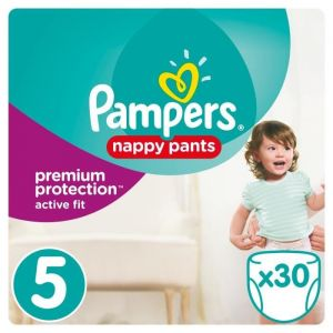 Pampers Premium Active Fit Pants taille 5 (11-18 kg) - 30 couches-culottes