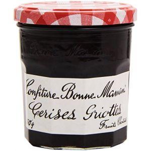 Bonne Maman Confiture de cerises griottes, fruits choisis - Le pot de 370g