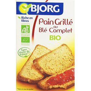 Bjorg Pain Grille au Blé Complet 250 g - Lot de 6