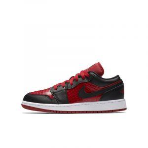Nike Chaussure Air Jordan 1 Low Enfant - Rouge - Taille 38