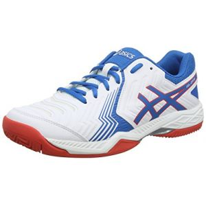 cheap for discount 44471 fbac8 ASICS Gel-Game 6 Clay, Chaussures de Tennis Homme, Multicolore (White
