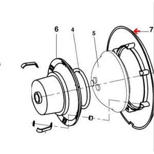 Weltico 796535 - Enjoliveur de projecteur