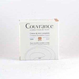 Avène Couvrance n°3 Sable - Crème de teint compacte SPF30