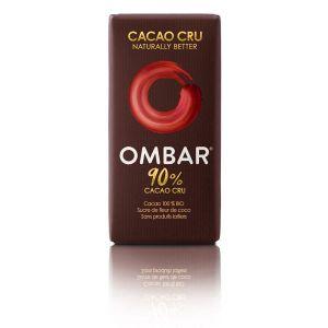 Ombar Chocolat 90 % cacao cru 35g