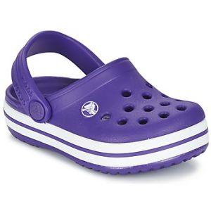 Crocs Crocband Clog Kids, Mixte Enfant Sabots, Violet (Ultraviolet/White), 19-20 EU