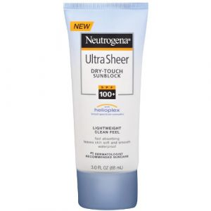 Neutrogena Ultra Sheer Dry-Touch Sunscreen 100+