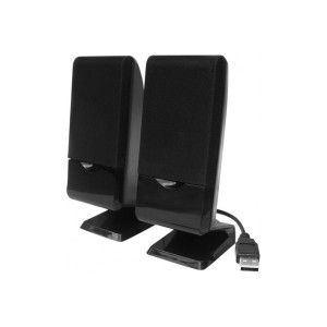 MCAD 572703 - Enceintes USB 2.0 120W (2x2W rms)
