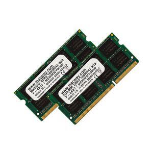 Barrettes mémoire 2 x 8 Go DDR3L 1600 MHz SoDimm