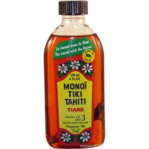 Tiki Monoï Tahiti tiaré bronzant