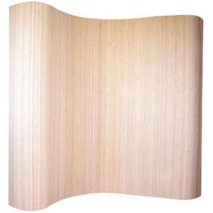 Pegane Paravent bambou naturel 200 x 250 cm -
