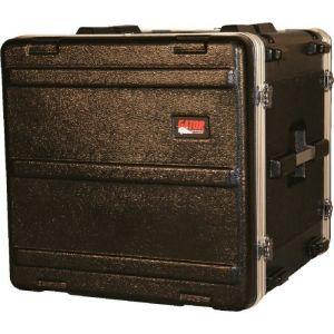 Gator GR-10L Flight Case Standard avec Rack 10U pour Equipement DJ/VJ Noir