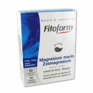 Fitoform Magnésium Marin - 60 comprimés