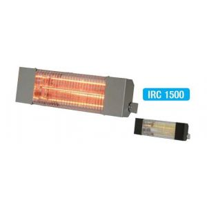 Sovelor Chauffage radiant électrique inox infrarouge halogène quartz 1500W IRC1500CI