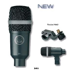 AKG D40 - Microphone pour instrument