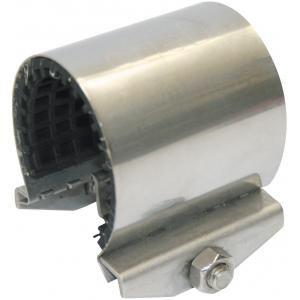Gebo 50.01.060064.06 - Collier de réparation inox UNIFIX mini 1 boulon tolérance 60-64
