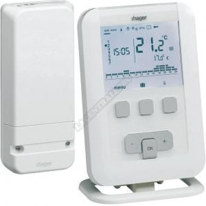 Hager Thermostat programmable digital EK560