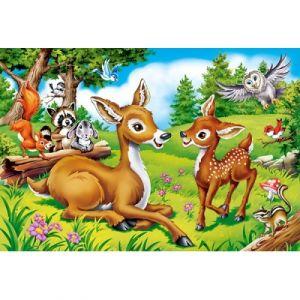 Castorland Puzzle 40 pièces maxi : Cher petit cerf