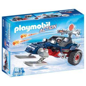 Playmobil 9058 Action - Motoneige avec pirate des glaces