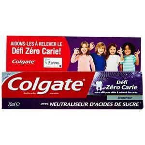 Colgate Dentifrice Défi Zéro Carie Blancheur 75 ml