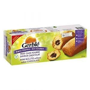 Gerblé Cake Fourré Chocolat sans Gluten 210 g
