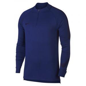 Nike Haut de football à manches longues Dri-FIT Squad Drill pour Homme - Bleu - Taille XL