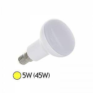 Vision-El Ampoule Led COB 5W (45W) E14 Spot opaque Blanc chaud -