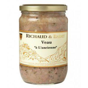"""Richaud & badet Veau """"à l'ancienne"""", Bocal 600 gr"""