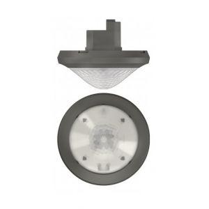 Theben Détecteur de présence passif-infrarouge The Ronda P360-100 M UP GR - Plafond - Gris