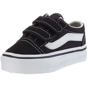 Vans Baskets scratch TD Old Skool V Noir/Blanc - Taille 20;22;23 1/2;24;25;26;21