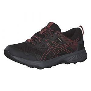 Asics Gel-Sonoma 5 G-Tx, Chaussures de Course Pour Femme - Noir - Black Dried Rose, 43.5 Eu Eu