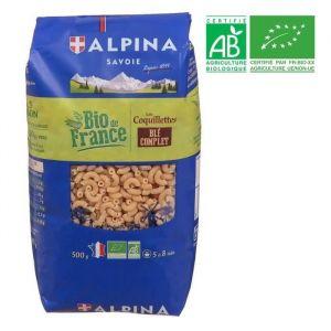 Alpina Savoie Coquillettes blé complet bio 500g