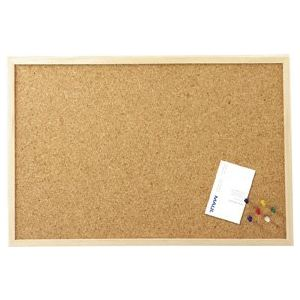 Maul Tableau liège avec cadre en bois (80 x 120 cm)