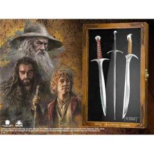 The Noble Collection Le Hobbit - Set Coupe-Papiers Épées