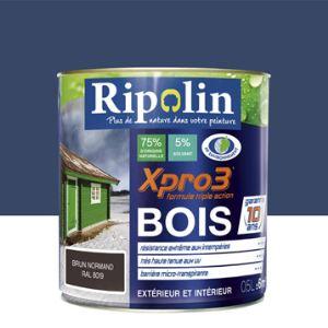 Peinture bois exterieur bleu comparer 768 offres for Peinture bois exterieur tollens