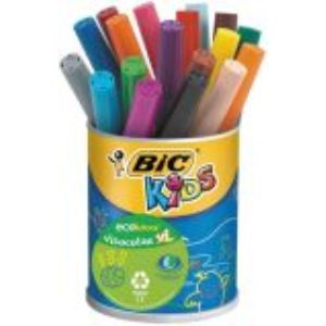 Bic Kids ecolutions - Pot de 18 feutres Visacolor XL