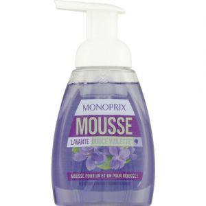 Monoprix Mousse lavante douce violette - Le flacon de 250ml