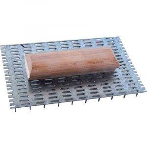 Outibat Taloche à pointes poignée bois - 144 pointes - Dimensions 15 x 20 cm