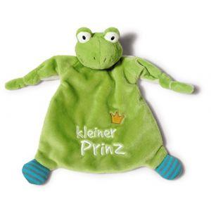 Nici Ma First grenouille en peluche petit prince 40045 vert