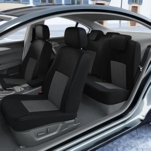 DBS Housse de siège Housses sièges compatibles Kia Sportage III 3 portes