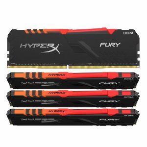 Kingston HyperX Fury RGB 128 Go (4 x 32 Go) DDR4 3466 MHz CL17