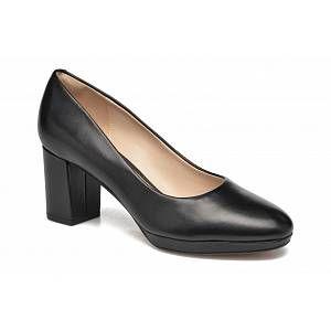 Clarks Kelda Hope, Escarpins Femme, Noir (Black Leather), 41.5 EU