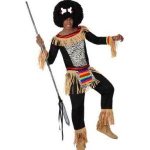 Déguisement de Zoulou, peuple Africain