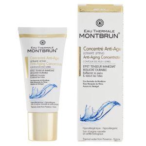 Montbrun Eau Thermale - Concentré anti âge yeux Bio