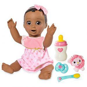 Spin Master 6044113Cheveux Ensemble d'accessoires de poupée Luvabella, Marron foncé