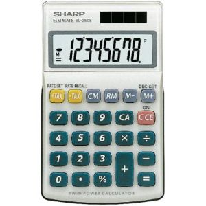 Sharp EL-250 - Calculatrice de bureau