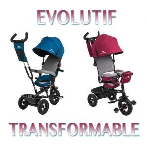 Kinderkraft Trike Tricycle SWIFT 3 roues 1 - 5 ans enfant bébé poussette evolutif smart