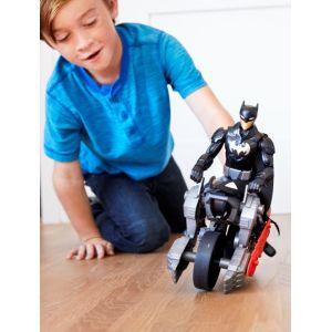 Mattel Figurine et Véhicule Dc Comics - Batman & Batcycle