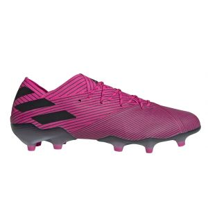 Adidas Nemeziz 19.1 Fg - Shock Pink / Core Black / Shock Pink - Taille EU 44