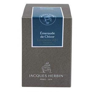 Herbin 15035JT - Flacon d'encre 1670, 50ml, couleur émeraude de Chivor